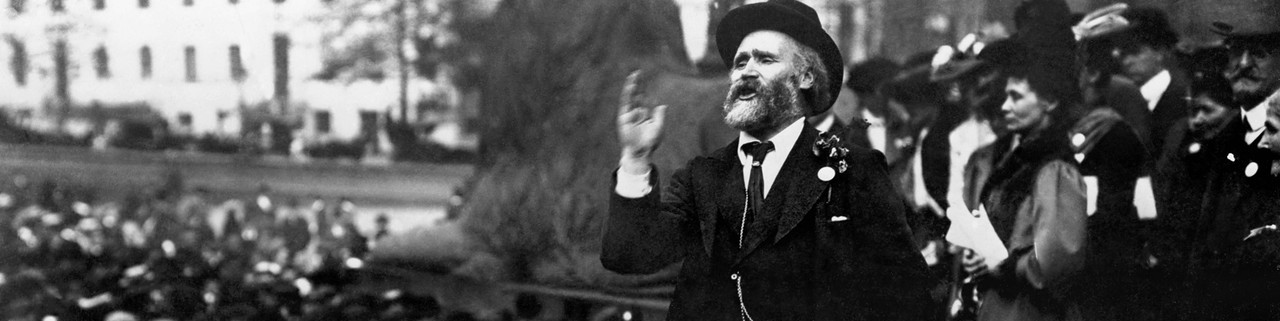 Keir Hardie, founder of the Labour Party